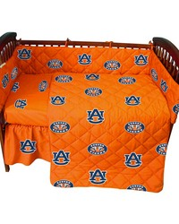 Auburn Tigers Baby Crib Fitted Sheet Pair  Solid Includes 2 Fitted sheets by