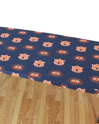 Auburn Tigers 6 Table Cover  72 in  x 30 in  by