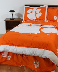 Clemson Tigers Bed-in-a-Bag Set by