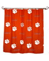Clemson Tigers Standard Shower Curtain By