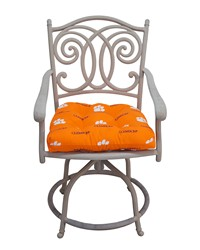 Clemson Tigers D Cushion 20 in  x 20 in  by