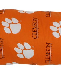 Clemson Tigers Printed Body Pillow  20 in  x 60 in  by