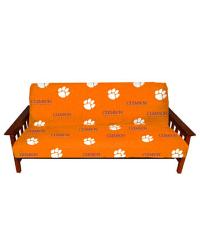 Clemson Tigers Full Size 8in. Futon Cover by
