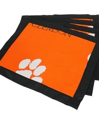 Clemson Tigers Placemat w Border Set  of 4 by