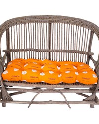 Clemson Tigers Settee Cushion by