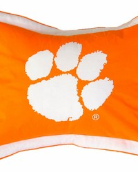Clemson Tigers Printed Pillow Sham by