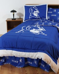 Duke Blue Devils Bed-in-a-Bag Set by