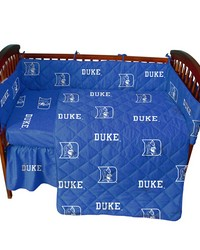Duke Blue Devils Baby Crib Fitted Sheet Pair  Solid Includes 2 Fitted sheets by