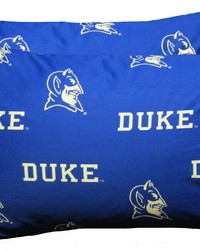 Duke Blue Devils Pillowcase Pair  Solid by