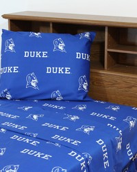 Duke Blue Devils Sheet Set - Blue by