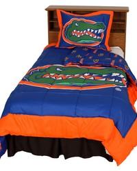 Florida Gators Reversible Comforter Set  Twin by