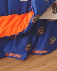 Florida Gators Printed Dust Ruffle  Twin by
