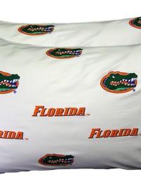 Florida Gators Pillowcase Pair  White by