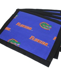 Florida Gators Placemat w Border Set  of 4 by