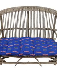 Florida Gators Settee Cushion by