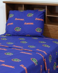 Florida Gators Sheet Set - Blue by