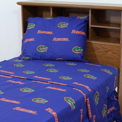 Florida Gators Sheet Set Blue Interiordecorating