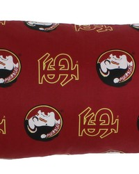 Florida State Seminoles Printed Body Pillow  20 in  x 60 in  by