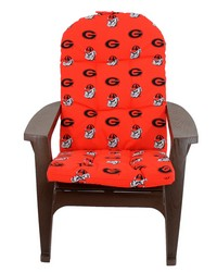 Georgia Bulldogs Adirondack Cushion by