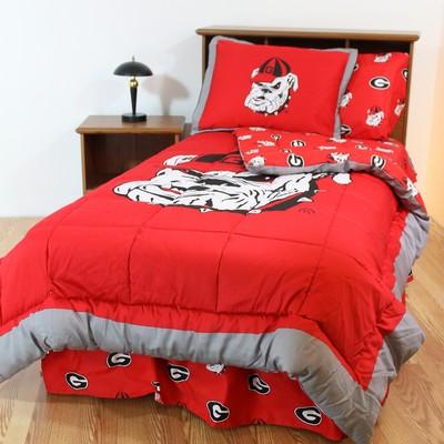 Georgia Bulldogs Bed In A Bag Set Interiordecorating
