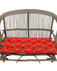Georgia Bulldogs Settee Cushion by