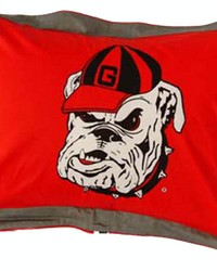 Georgia Bulldogs Printed Pillow Sham by