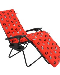 Georgia Bulldogs Zero Gravity Chair Cushion 20x72x2 by