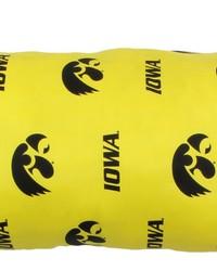 Iowa Hawkeyes Printed Body Pillow  20 in  x 60 in  by
