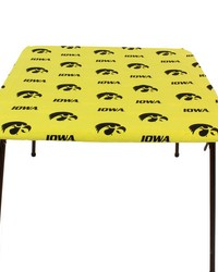 Iowa Hawkeyes Card Table Cover  33 in  x 33 in  by