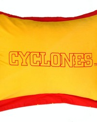 Iowa State Cyclones Printed Pillow Sham by