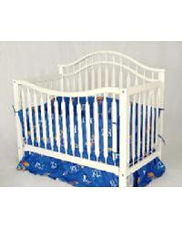 Kansas Jayhawks Crib Bedding Set by