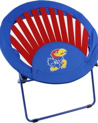Kansas Jayhawks Rising Sun Chair by