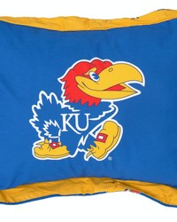 Kansas Jayhawks Printed Pillow Sham by