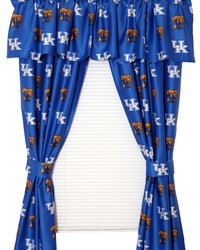 Kentucky Wildcats Printed Curtain Panels 42 in  x 63 in  by