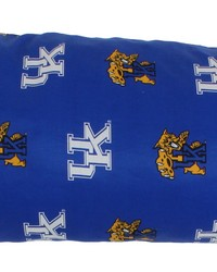 Kentucky Wildcats Printed Body Pillow  20 in  x 60 in  by