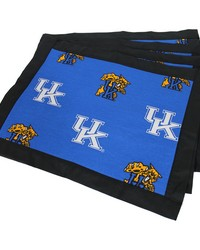Kentucky Wildcats Placemat w Border Set  of 4 by