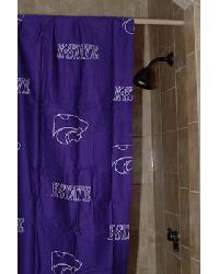 Kansas State Wildcats Standard Shower Curtain by