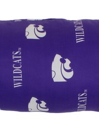 Kansas State Wildcats Printed Body Pillow  20 in  x 60 in  by