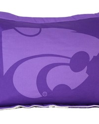 Kansas State Wildcats Printed Pillow Sham by