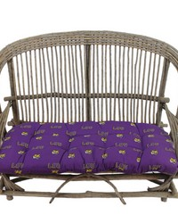 Louisiana State University Tigers Settee Cushion by