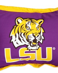 Louisiana State University Tigers Printed Pillow Sham by