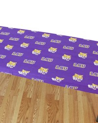 Louisiana State University Tigers 8 Table Cover  95 in  x 30 in  by