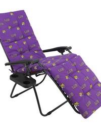 Louisiana State University Tigers Zero Gravity Chair Cushion 20x72x2 by
