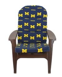 Michigan Wolverines Adirondack Cushion by