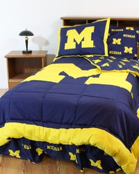 Michigan Wolverines Bed-in-a-Bag Set by