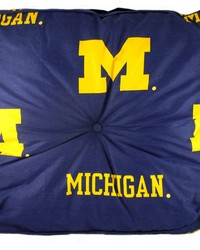 Michigan Wolverines Floor Pillow by