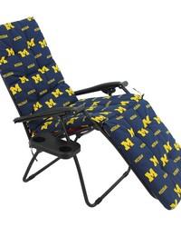 Michigan Wolverines Zero Gravity Chair Cushion 20x72x2 by