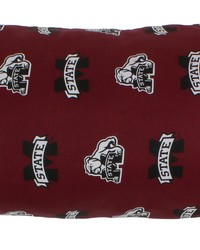 Mississippi State Bulldogs Printed Body Pillow  20 in  x 60 in  by