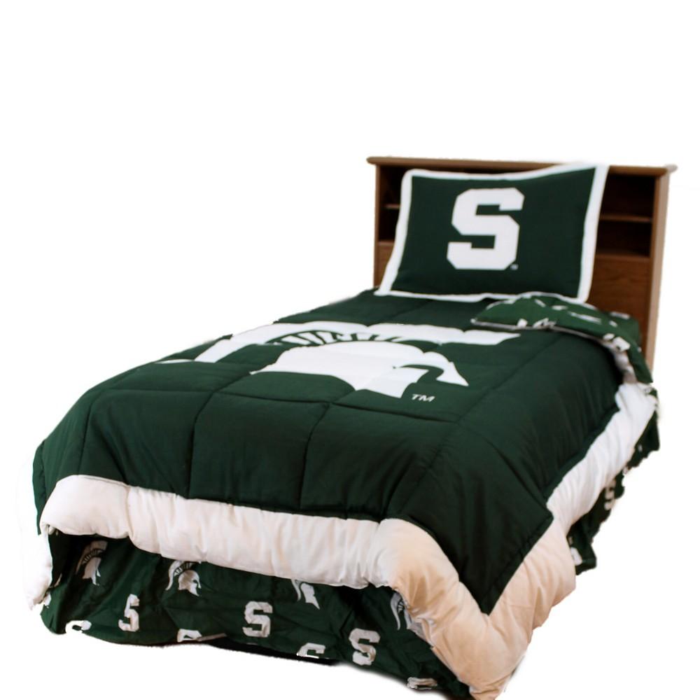 Michigan State King Size Bedding