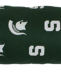 Michigan State Spartans Printed Body Pillow  20 in  x 60 in  by